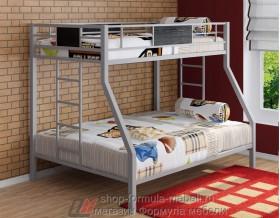 двухъярусная кровать Гранада цвет серый