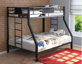 двухъярусная кровать Гранада цвет чёрный