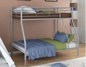 двухъярусная кровать Гранада-2 цвет серый