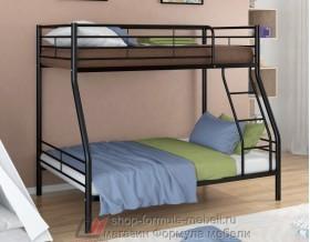 двухъярусная кровать Гранада-2 цвет чёрный