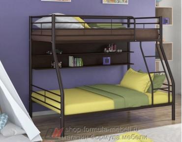 двухъярусная кровать Гранада-2 П цвет коричневый / венге Формула мебели