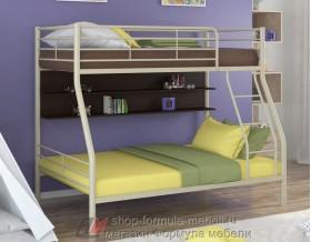 двухъярусная кровать Гранада-2 П цвет бежевый / венге