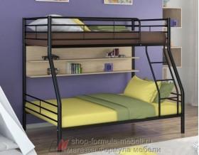 двухъярусная кровать Гранада-2 П цвет чёрный / венге