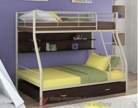 двухъярусная кровать Гранада-2 ПЯ цвет бежевый / венге