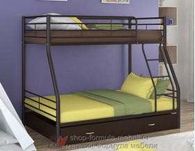 двухъярусная кровать Гранада-2 Я цвет коричневый / венге
