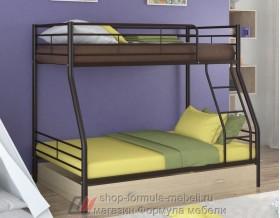 двухъярусная кровать Гранада-2 Я цвет коричневый / дуб молочный