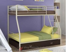 двухъярусная кровать Гранада-2 Я цвет бежевый / венге
