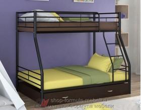 двухъярусная кровать Гранада-2 Я цвет чёрный / венге