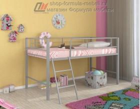 кровать чердак Севилья-мини цвет серый