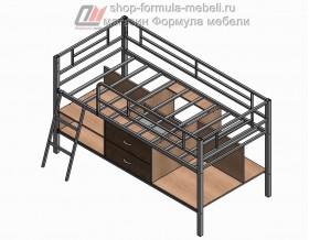 кровать чердак Севилья-Я мини наполнение, Формула мебели