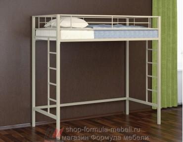 кровать чердак Севилья 1/1 цвет серый, Формула мебели