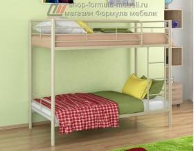 двухъярусная кровать Севилья-3 цвет бежевый, Формула мебели