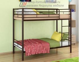 двухъярусная кровать Севилья-3 цвет коричневый, Формула мебели