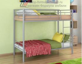 двухъярусная кровать Севилья-3 цвет серый, Формула мебели