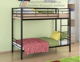 двухъярусная кровать Севилья-3 цвет чёрный, Формула мебели