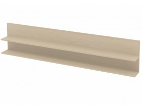 Полка для  кроватей из металла цвет дуб молочный