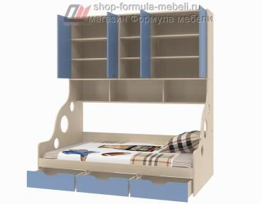 наполнение кровать с антресолью Дельта 21.01 полуторка, Формула мебели
