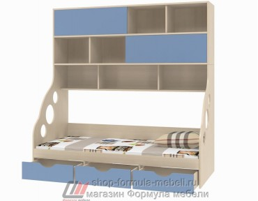 кровать с антресолью Дельта 21.12 наполнение, Формула мебели