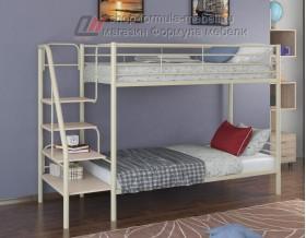 двухъярусная кровать Толедо цвет слоновая кость / дуб молочный, Формула мебели