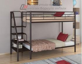 двухъярусная кровать Толедо цвет коричневый / венге