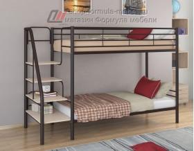 двухъярусная кровать Толедо цвет коричневый / дуб молочный