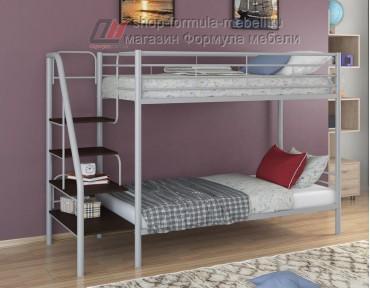 двухъярусная кровать Толедо цвет серый / венге