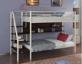 двухъярусная кровать Толедо П цвет слоновая кость / венге