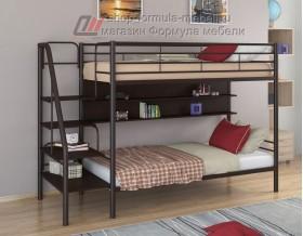 двухъярусная кровать Толедо П цвет коричневый / венге