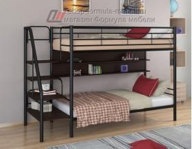 двухъярусная кровать Толедо П цвет чёрный / венге