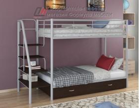 двухъярусная кровать Толедо Я цвет серый / венге