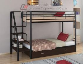 двухъярусная кровать Толедо Я цвет чёрный / венге