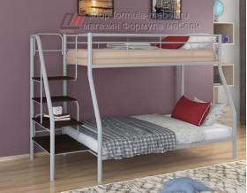 двухъярусная кровать Толедо-1 цвет серый / венге