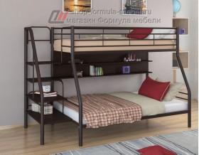 двухъярусная кровать Толедо-1 П цвет коричневый / венге