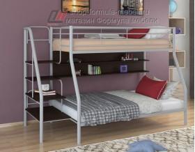 двухъярусная кровать Толедо-1 П цвет серый / венге