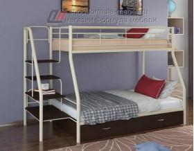 двухъярусная кровать Толедо-1 Я цвет слоновая кость / венге