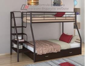 двухъярусная кровать Толедо-1 Я цвет коричневый / венге