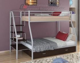 двухъярусная кровать Толедо-1 Я цвет серый / венге