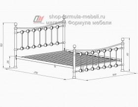 размеры кровати Эльда