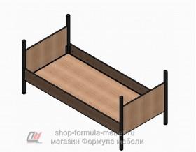 Дельта-Лофт-20.02.02 кровать нижняя