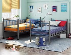Дельта-Лофт-20.02.03 кровать двухъярусная разборная на две кровати