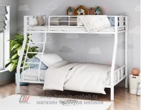 двухъярусная кровать Гранада-1 белая