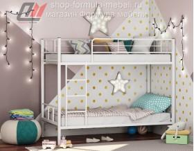 двухъярусная кровать Севилья-2 цвет белый, Формула мебели