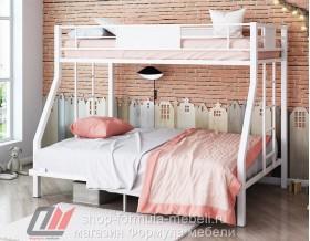 двухъярусная кровать Гранада 1400 цвет белый / белый