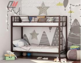 двухъярусная кровать Севилья коричневая