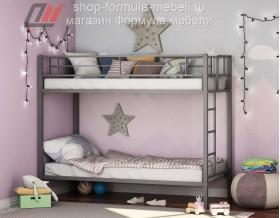 двухъярусная кровать Севилья цвет серый, Формула мебели