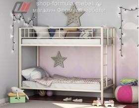 двухъярусная кровать Севилья цвет бежевый, Формула мебели
