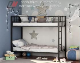 двухъярусная кровать Севилья цвет чёрный, Формула мебели