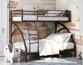 двухъярусная кровать Виньола 2 коричневая