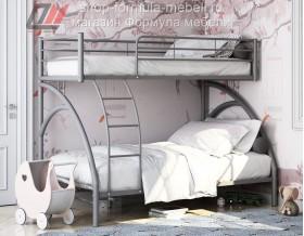 двухъярусная кровать Виньола 2 серая