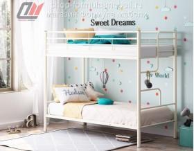 двухъярусная кровать Севилья 4 цвет бежевый (слоновая кость), Формула мебели